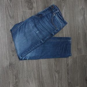 American eagle straight leg denim jeans size 6